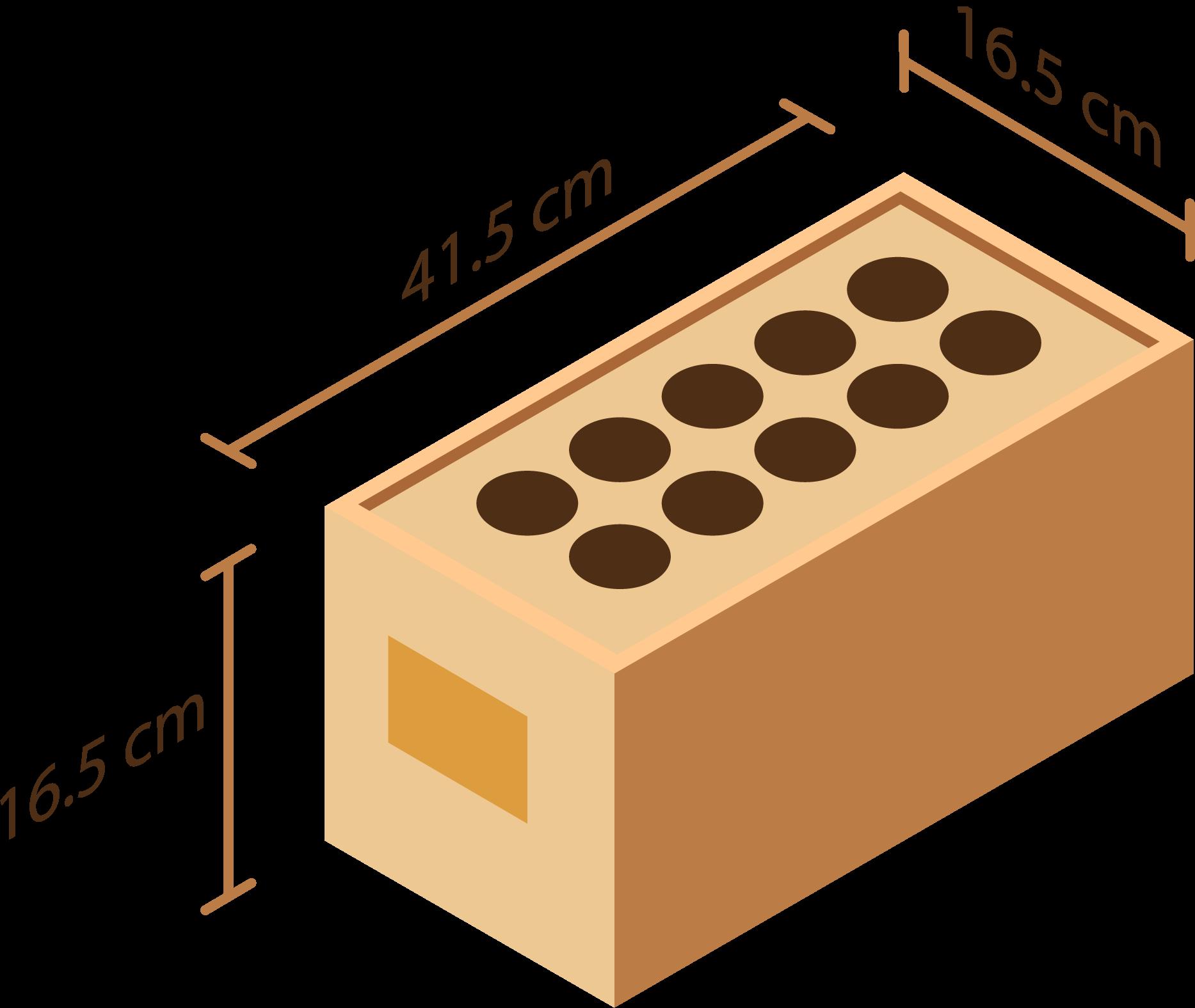 Dimensions de nos modèles 10 embases
